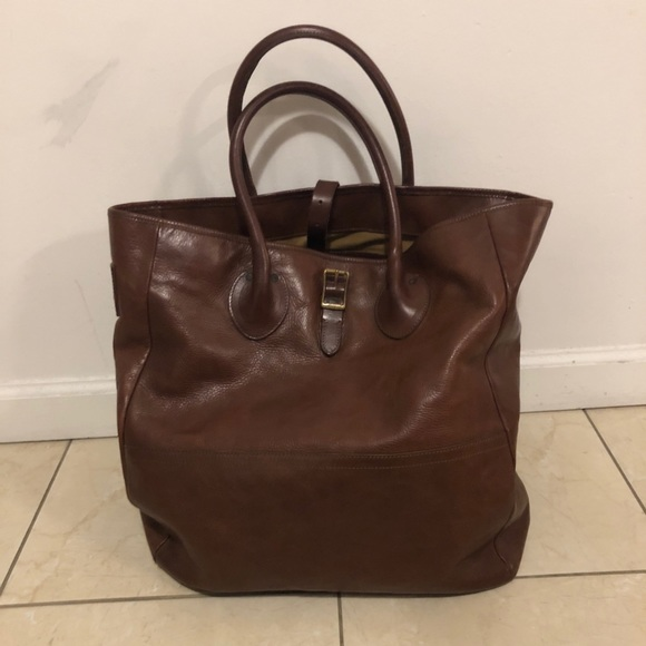 c62481b939 Polo Ralph Lauren Leather Tote
